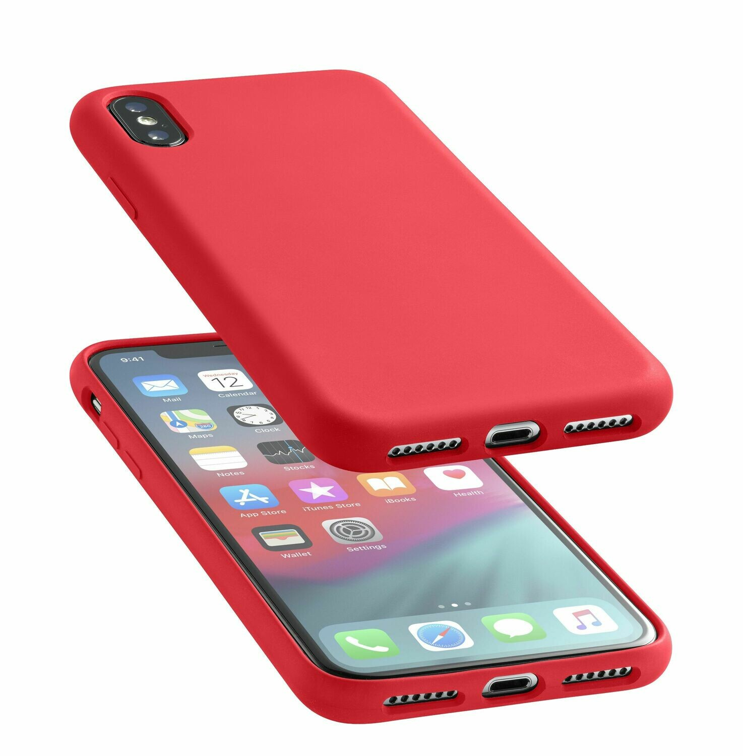 Cellular Line iPhone Xs Max Sensation Red