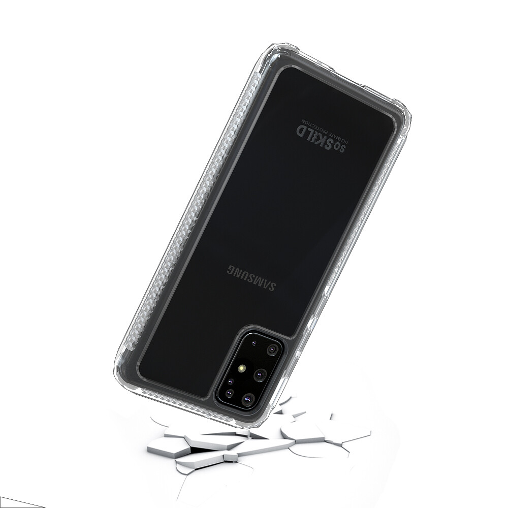 SoSkild Galaxy S20+ Defend 2.0 Heavy Impact Case Transparant