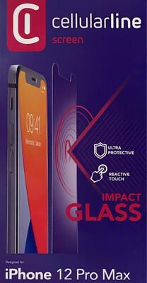 iPhone 12 Pro Max SP gehard glas, transparant