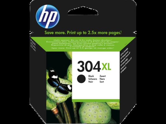 Inkt HP 304XL Zwart