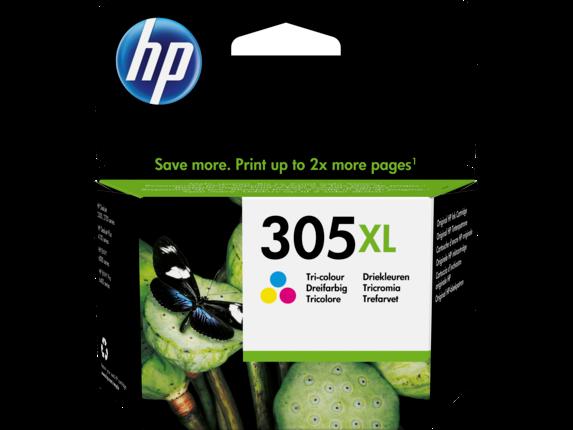 Inkt HP 305XL Cyaan, Magenta, Geel