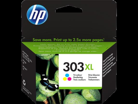 Inkt HP 303XL Drie kleuren
