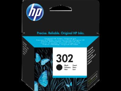 Inkt HP 302 Zwart