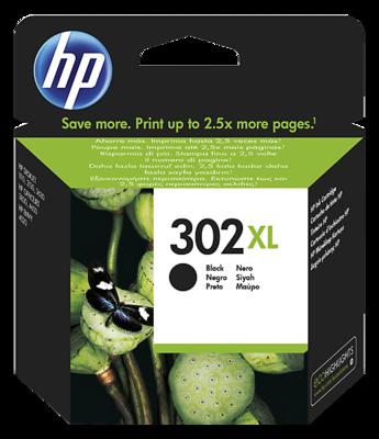 Inkt HP 302XL Zwart