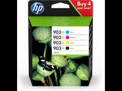 Inkt HP 903XL Zwart, Cyaan, Magenta, Geel