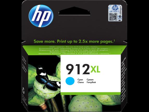 Inkt HP 912XL Cyaan