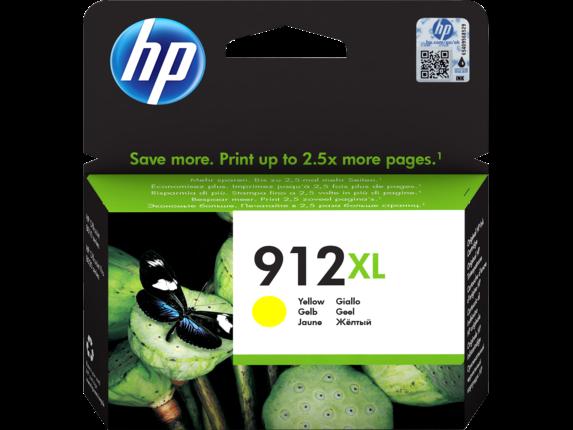 Inkt HP 912XL Geel