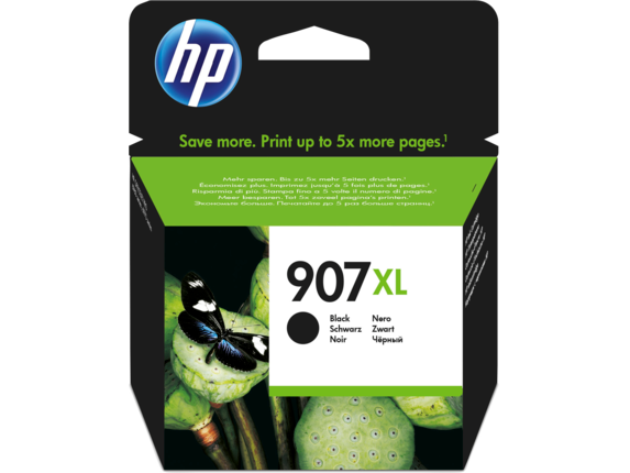Inkt HP 907XL Zwart