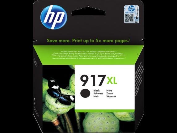 Inkt HP 917XL Zwart
