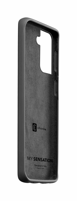Cellularline - Samsung Galaxy S21 Hoesje zwart