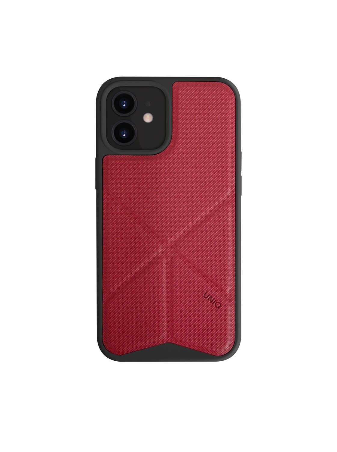 Uniq - iPhone 12/12 Pro Hoesje stand up rood