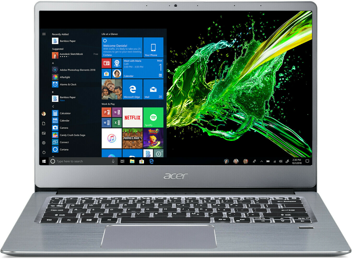 Notebook Acer Swift 3 SF314-57