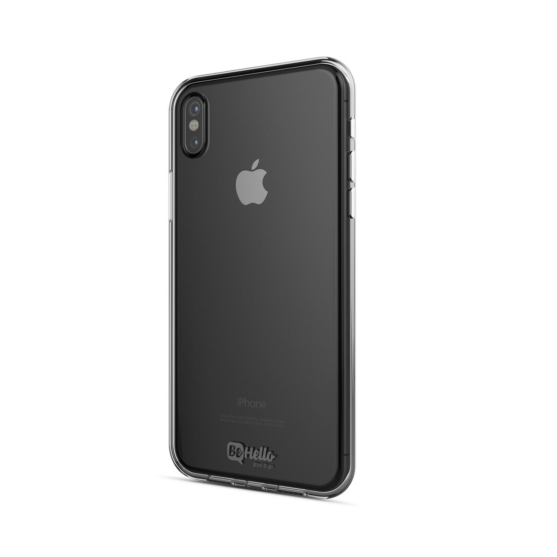 BeHello iPhone Xs/X ThinGel Case Clear Transparent