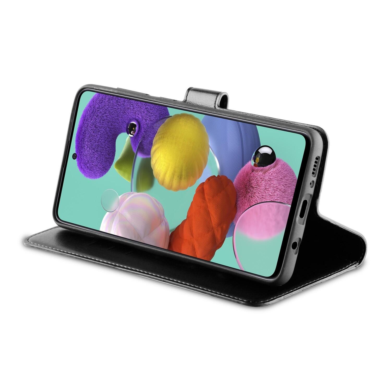Tas (TEL) Be Hello Galaxy A51 Gel Wallet Case Black