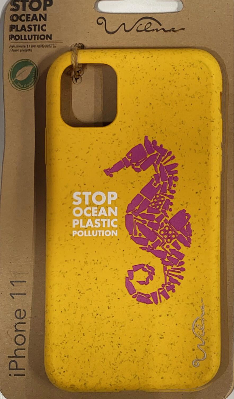 Wilma Eco iPhone11 Seahorse Yellow