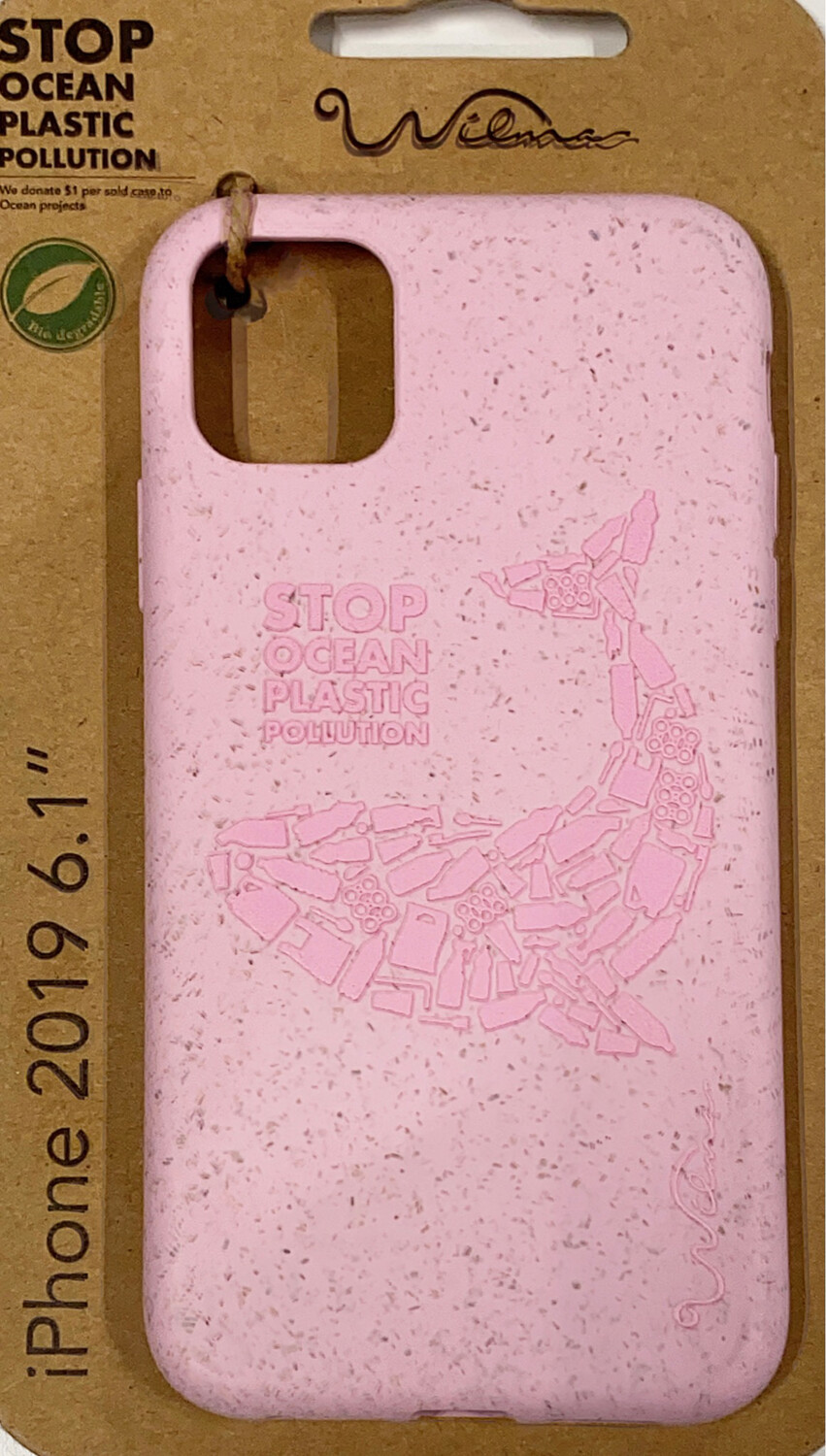 Wilma Eco iPhone11 Whale pink