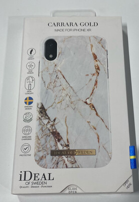 Tas (TEL) iDeal of Sweden iPhone Xr Fashion Back Case Carrar