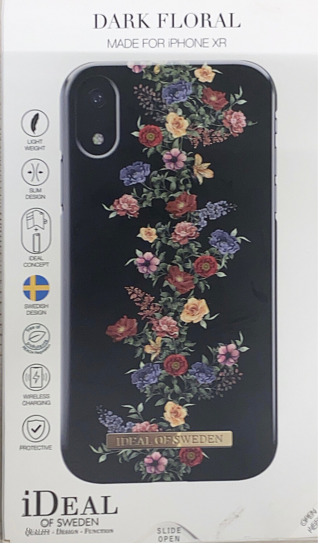 Tas (TEL) iDeal of Sweden iPhone Xr Fashion Back Case Dark F