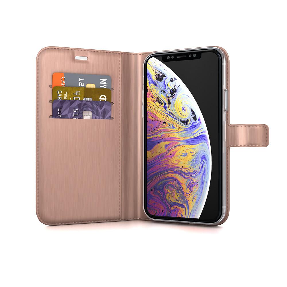 Be Hello Gel Wallet iPhone X Plus Pink