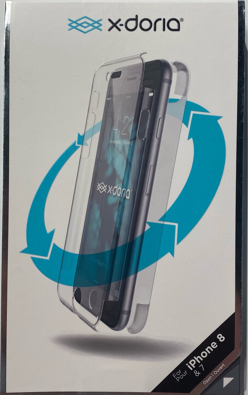 X-Doria iPhone 8/7 Defense 360, transparant