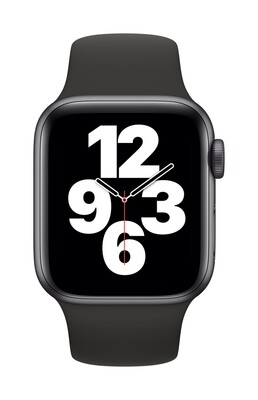 Apple Watch SE 44mm Zwart Aluminium Case