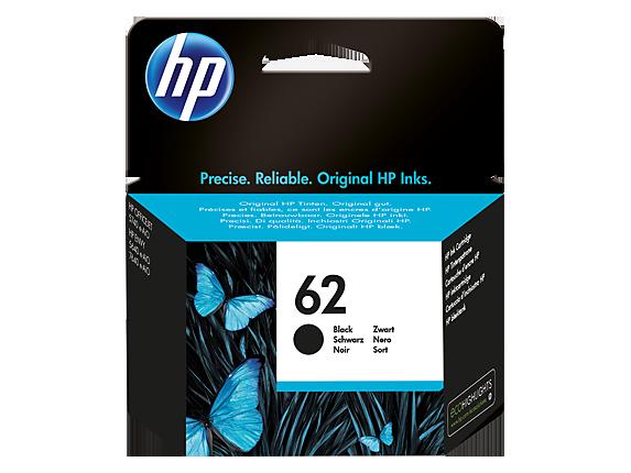 Inkt HP 62 Zwart