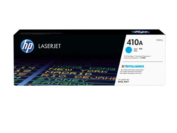 Inkt HP 410A Cyaan