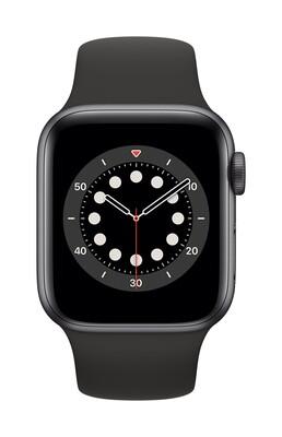 Apple Watch Series 6 44mm Zwart Aluminium Case