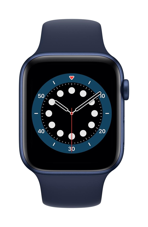 Apple Watch Series 6 GPS, 44mm Blauw Aluminium Case