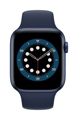 Apple Watch Series 6 GPS, 44mm Blauw Aluminium Case