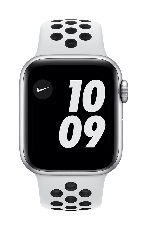 Apple Watch Nike Series 6 GPS, 40mm Zilver Aluminium Case