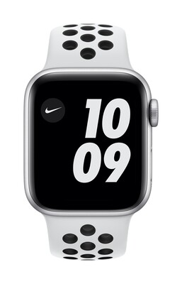 Apple Watch Nike Series 6 GPS, 40mm Zilver Aluminium Case