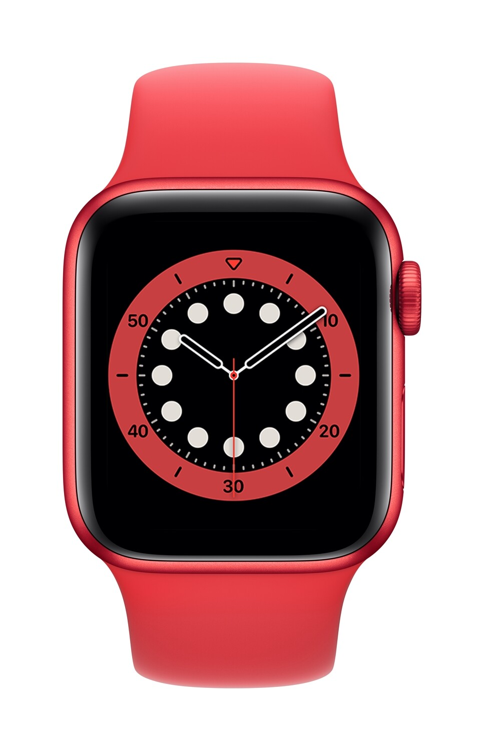 Apple Watch Series 6 GPS, 44mm Rood Aluminium Case