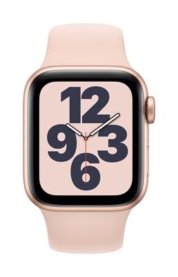 Apple Watch SE GPS, 44mm Goud Aluminium Case