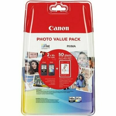 Inkt Canon 540XL/CL-541XL Pack