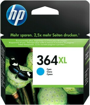 Inkt HP 364XL Cyaan