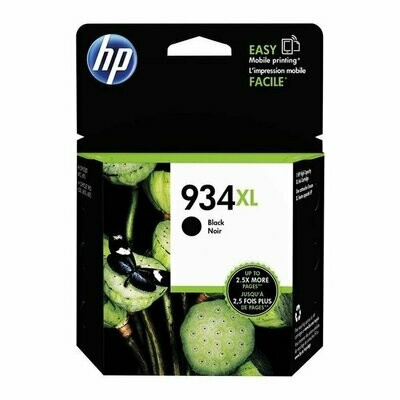 Inkt HP 934XL Zwart