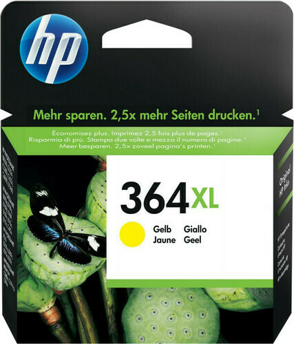 Inkt HP 364XL Geel
