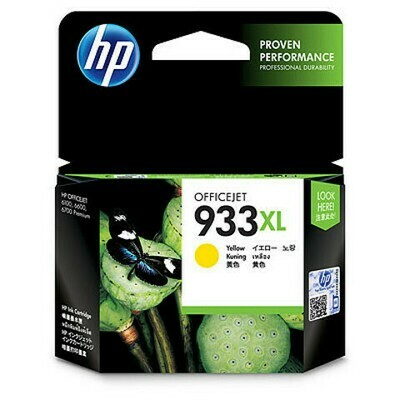 Inkt HP 933XL Geel