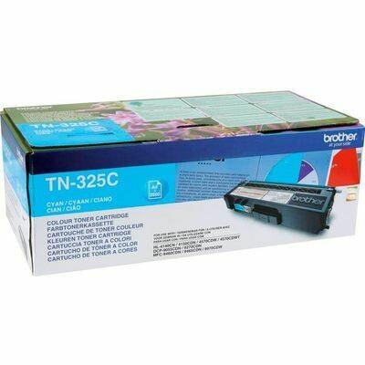 Inkt Brother TN-325C Cyaan