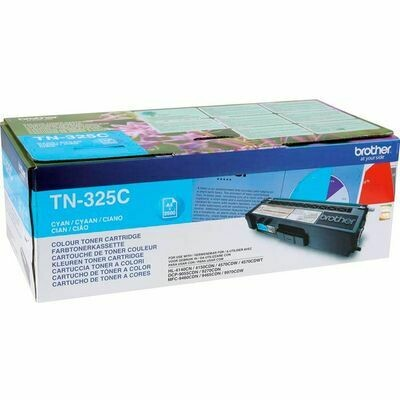 Inkt Brother TN-325C Cyaan