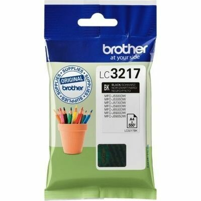 Inkt Brother LC3217 Zwart