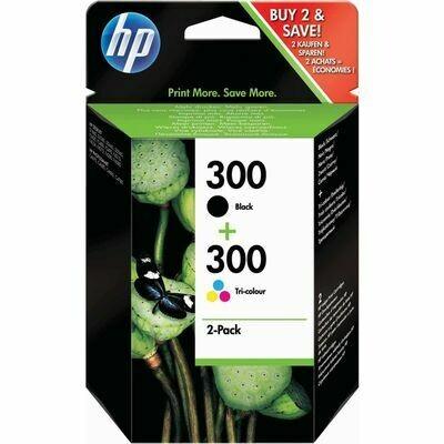 Inkt HP 300 Zwart, Cyaan, Magenta, Geel