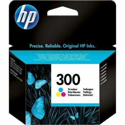 Inkt HP 300XL Cyaan, Magenta, Geel