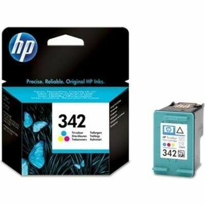 Inkt HP 342 Cyaan, Magenta, Geel