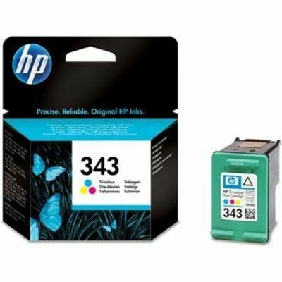 Inkt HP 343 Cyaan, Magenta, Geel