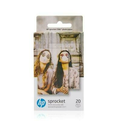 HP ZINK Sprocket Sticky-Backed Photo (20pg)