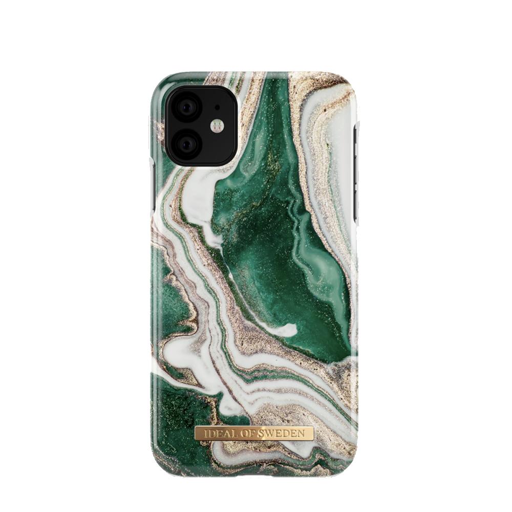 Fashion Back Golden Jade Marble iPhone 11 Pro/X/XS
