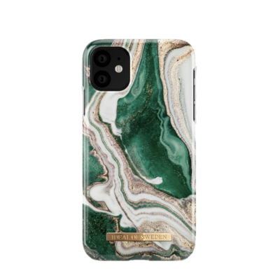 Fashion Back Golden Jade Marble iPhone 11 Pro/X/XS