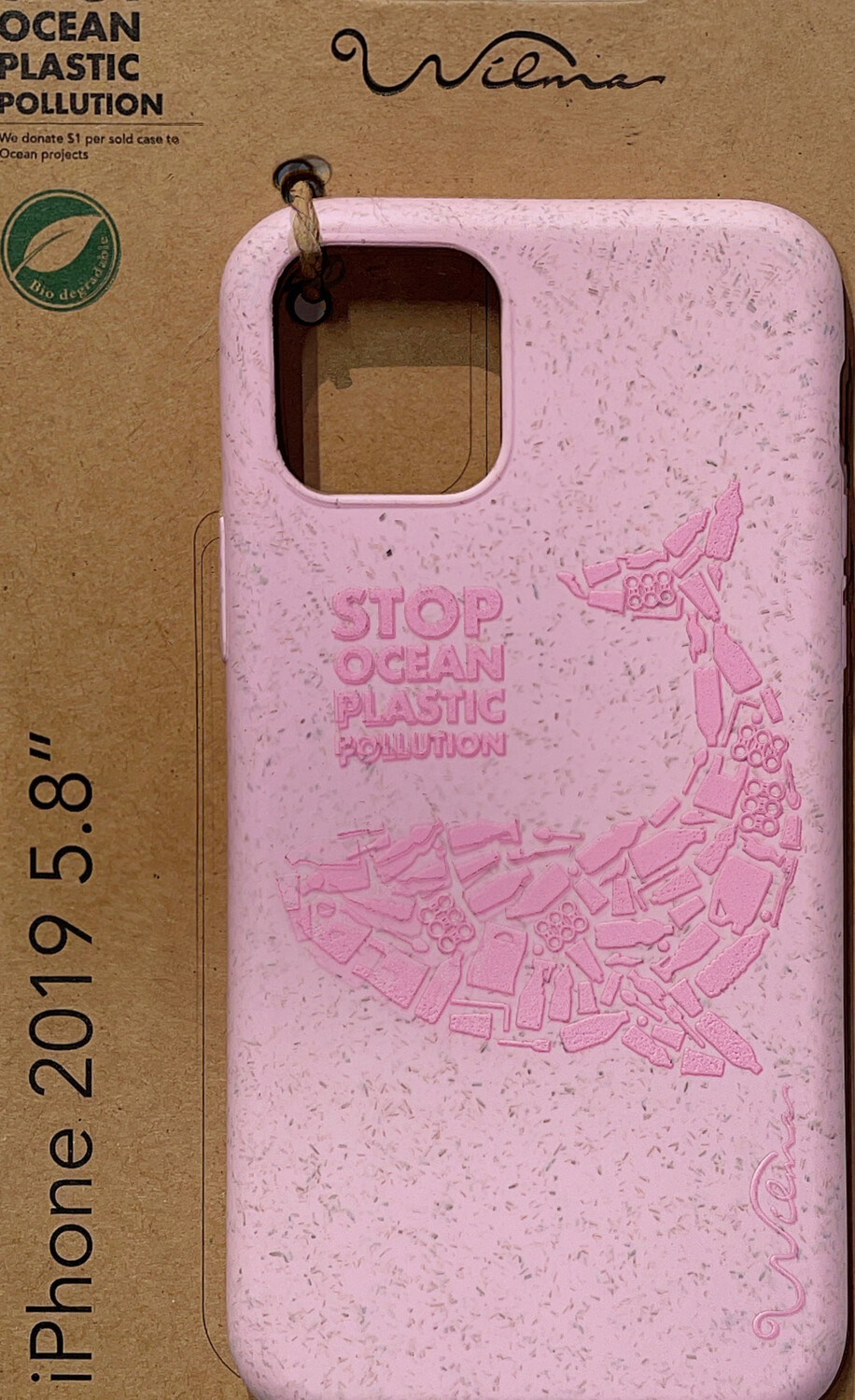 Wilma Eco iPhone11 Pro Whale pink
